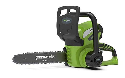 motosierra bateria Greenworks